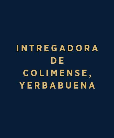 Intregadora de Colimense – Yerbabuena