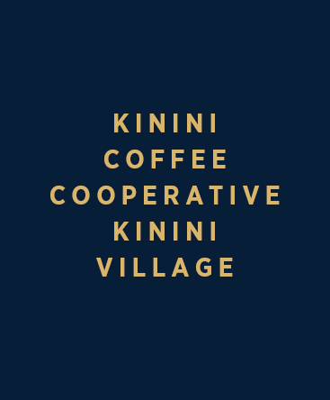 Kinini Coffee Cooperative – Kinini Village